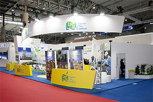 Stand design for the Nigerian booth