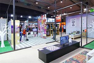 stand design graphispag 2015