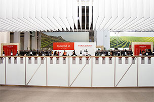 Stand design for the Barcelona Wine Week